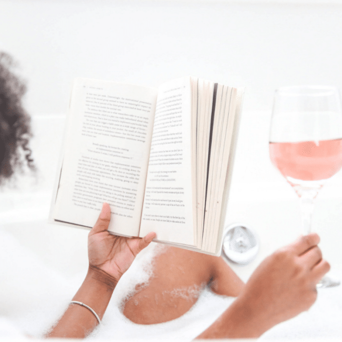 how to become that girl self care evening routine